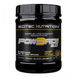 Pow3RD Scitec 350 gr ( Caducidad 11/2020 )