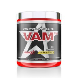 VAM ™ – PRE-WORKOUT ELITE STIM-COMPLEX 300 g