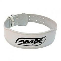 Cinturón Blanco Cuero Amix