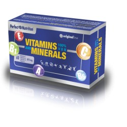 Vitamins & Minerals 100 % 60 Cápsulas