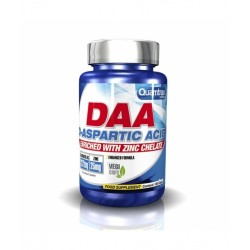 DAA. D-ASPARTIC ACID + Zn 120 Cápsulas