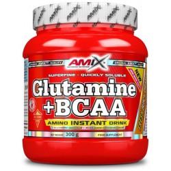 Amix Glutamina + Bcaa 300 g