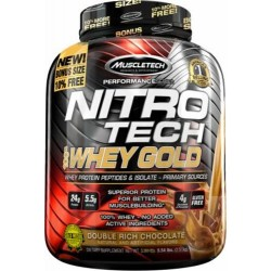 Nitro Tech 100 % Whey Gold 2700 g