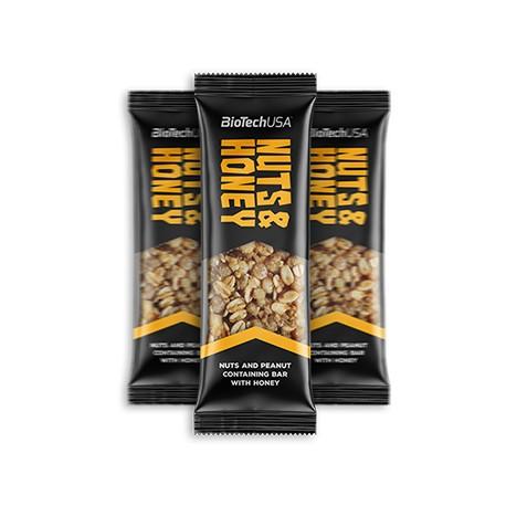 Nuts & Honey Bars 35 g Biotech Usa