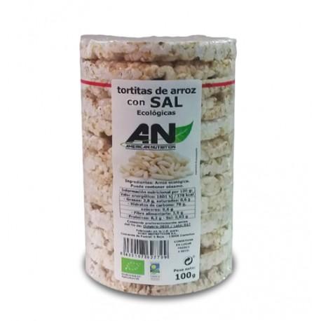 Tortitas de Arroz certificado Ecológicas 100 g