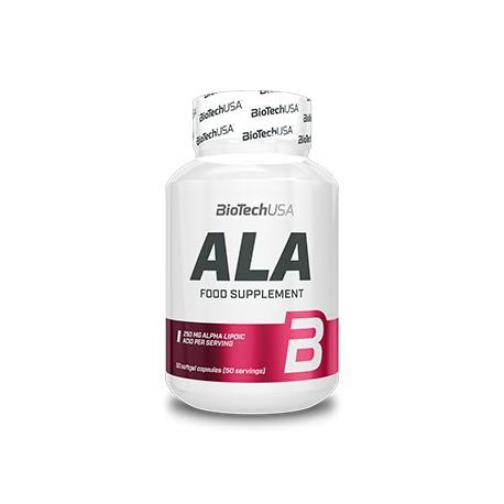 ALA Acido Alfa Lipoico 50 Capsulas