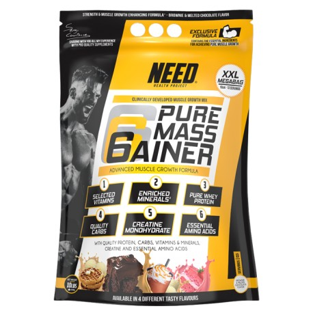 Need Pure Mass Gainer 4,536 kg