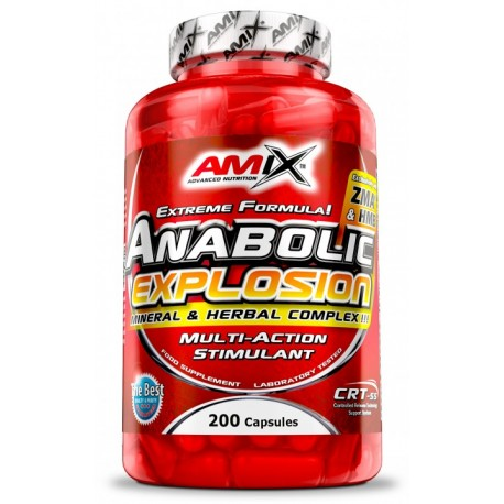 Amix Anabolic Explosion 200 Cápsulas
