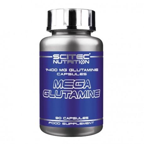 Mega Glutamine 1400 mg 90 Capsulas