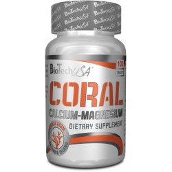Coral Calcium Magnesium 100 Tabletas