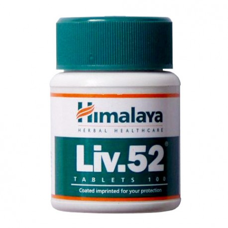 Liv 52 Hymalaya 100 Tabletas
