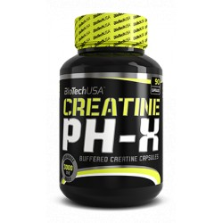 PH-X Creatine 90 Cápsulas Biotech Usa