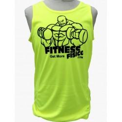 Camiseta Técnica Tirantes FitnessFisico