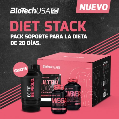 Diet Stack -Pack Pink Fit Easy