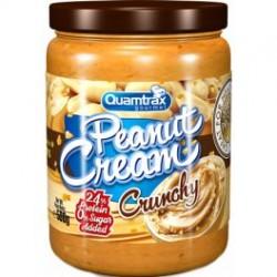 Quamtrax Crema de Cacahuete Crunchy 500 g