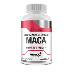 Maca 90 cápsulas Hero Essential