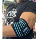 Coderas Bandas elástica Quamtrax ( Negras- Azul )