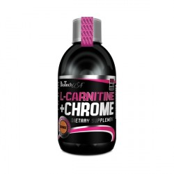L-Carnitina + Chrome 500 Ml