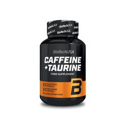 Cafeína & Taurina 60 Capsulas