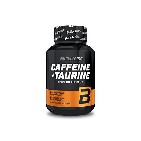 Caffeine and Taurine 60 Capsulas