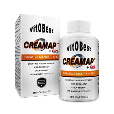 Creamap+GFS Aminos100 Cápsulas