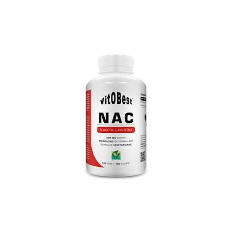 Nac (N-Acetil-Cisteína) 60 Cápsulas