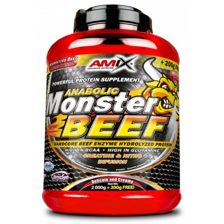 Anabolic Monster Beef 2 kg + 200 g + Shaker