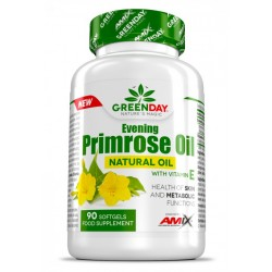 Amix Primrose Evening Oil + Vit E 90 Sofgel Caps
