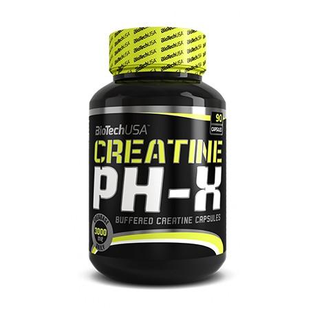PH-X Creatine 90 Cápsulas Biotech Usa